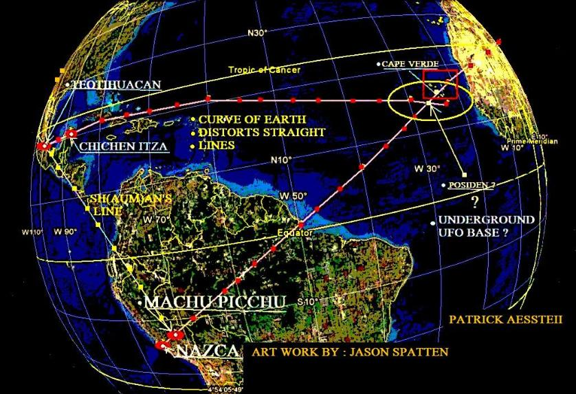 Ley Lines Southern California Map.Ley Lines And Sacred Sites